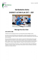 Strategic Diversity Action Plan