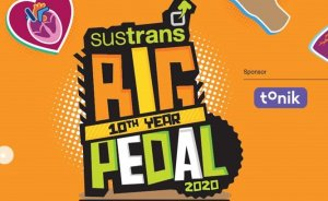 Sustrans Big Pedal – 22 April to 5th May 2020