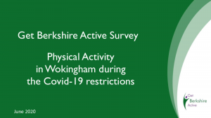 COVID Research Data Wokingham