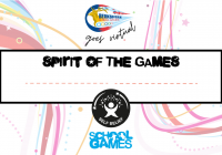 Spirit of the Games VSG Certificate Self Belief