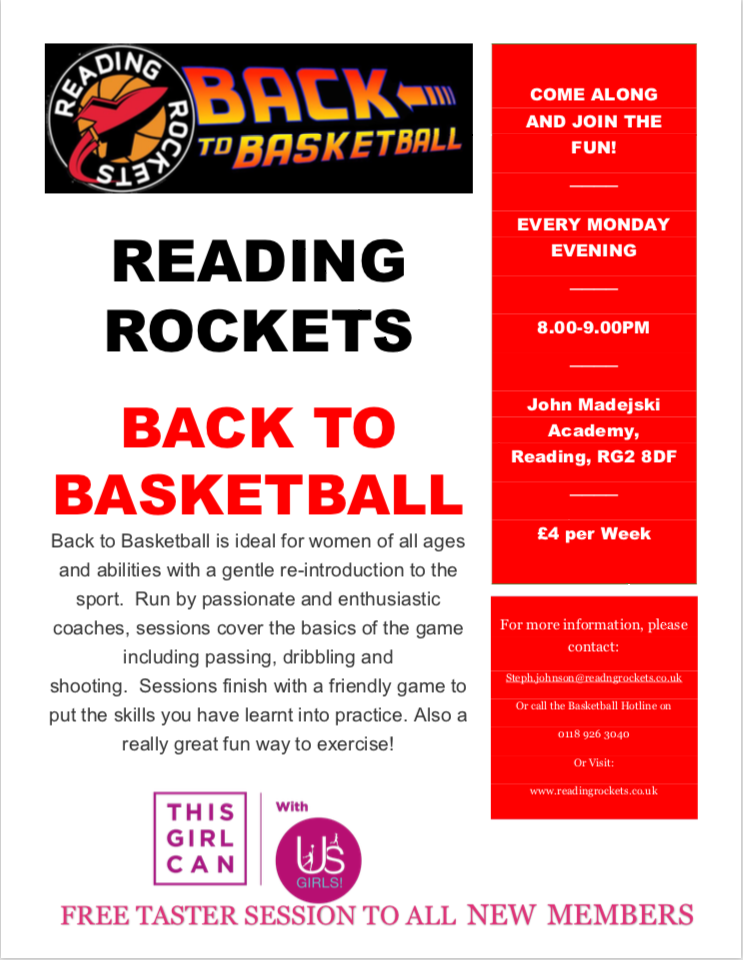 Back to Basketball by Reading Rockets
