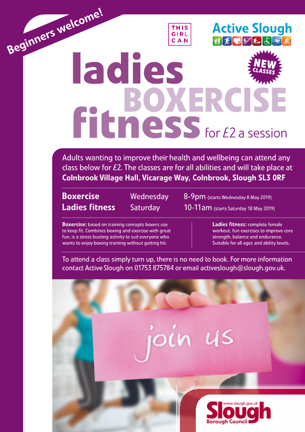 Ladies Boxercise from Active Slough
