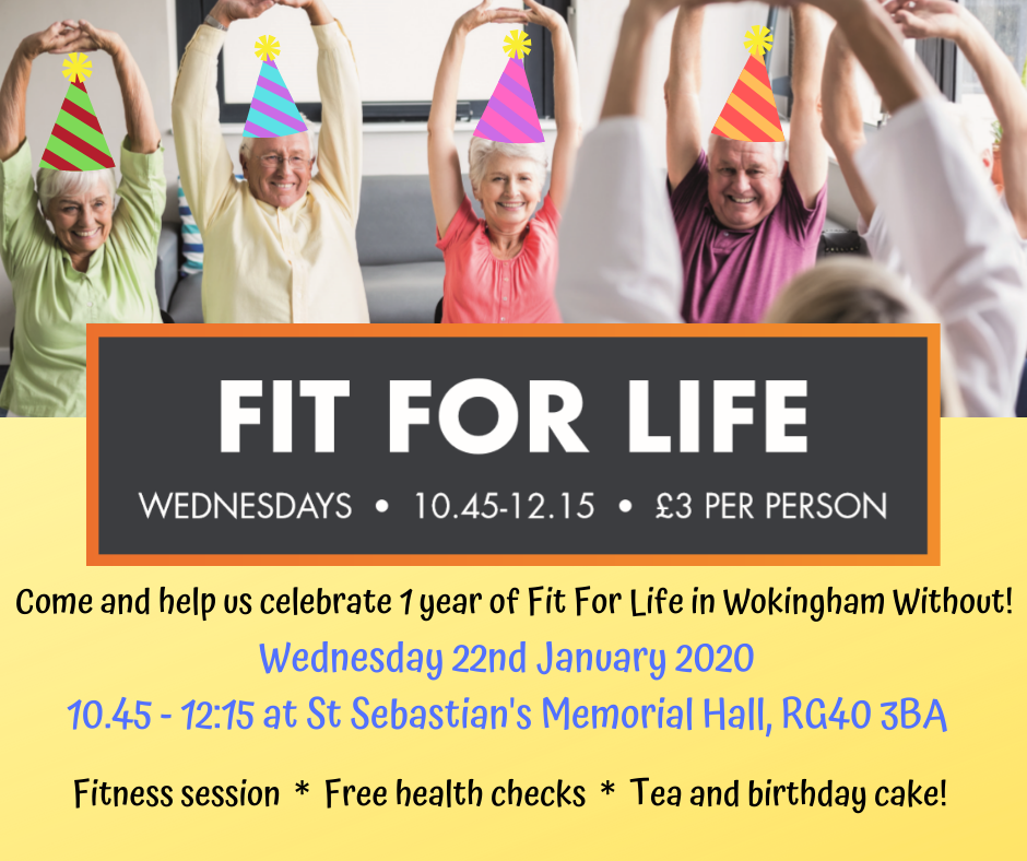 Image: Fit For Life Celebrations in Wokingham Without