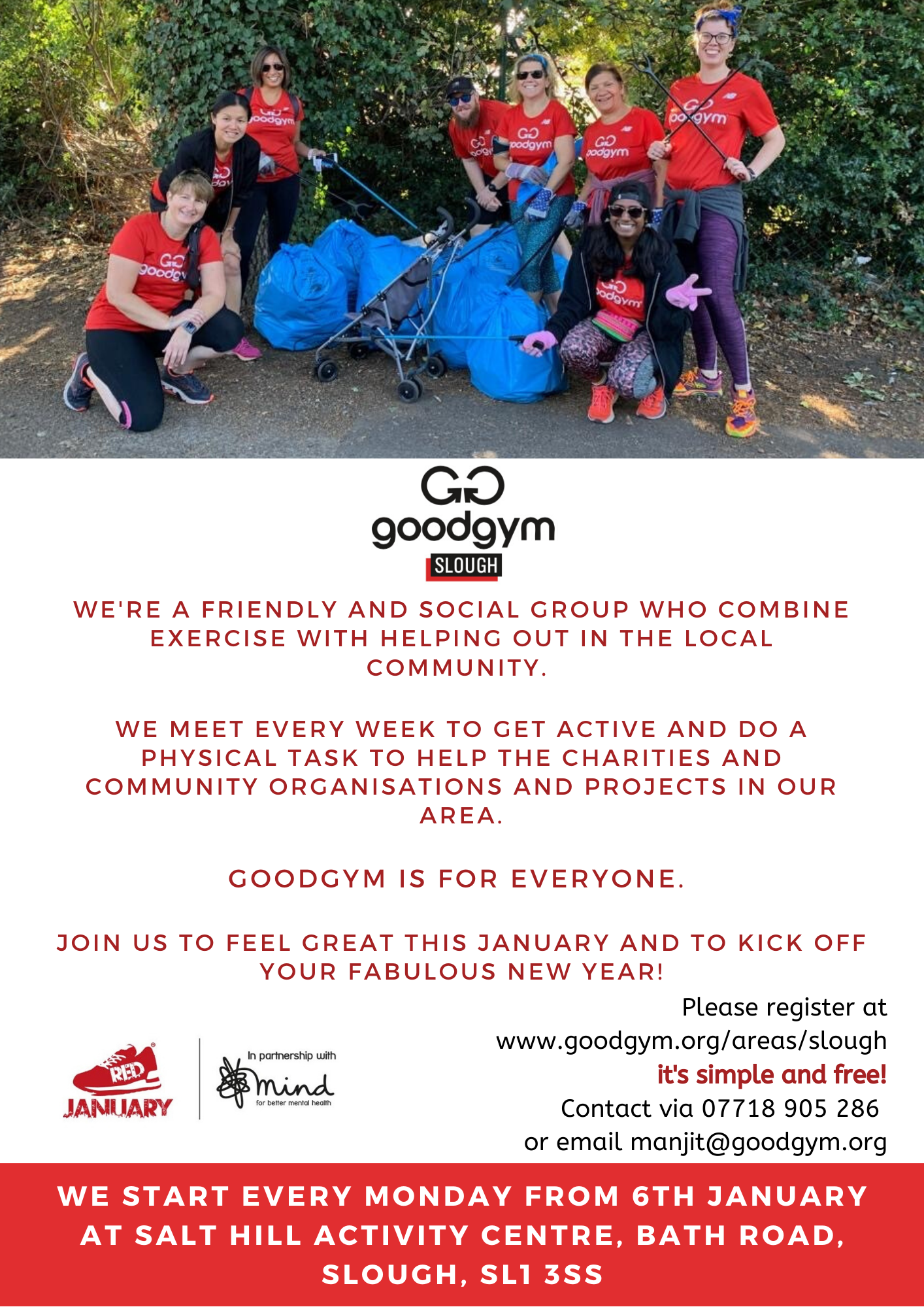 Image: GoodGym Slough Run / Walk Sessions