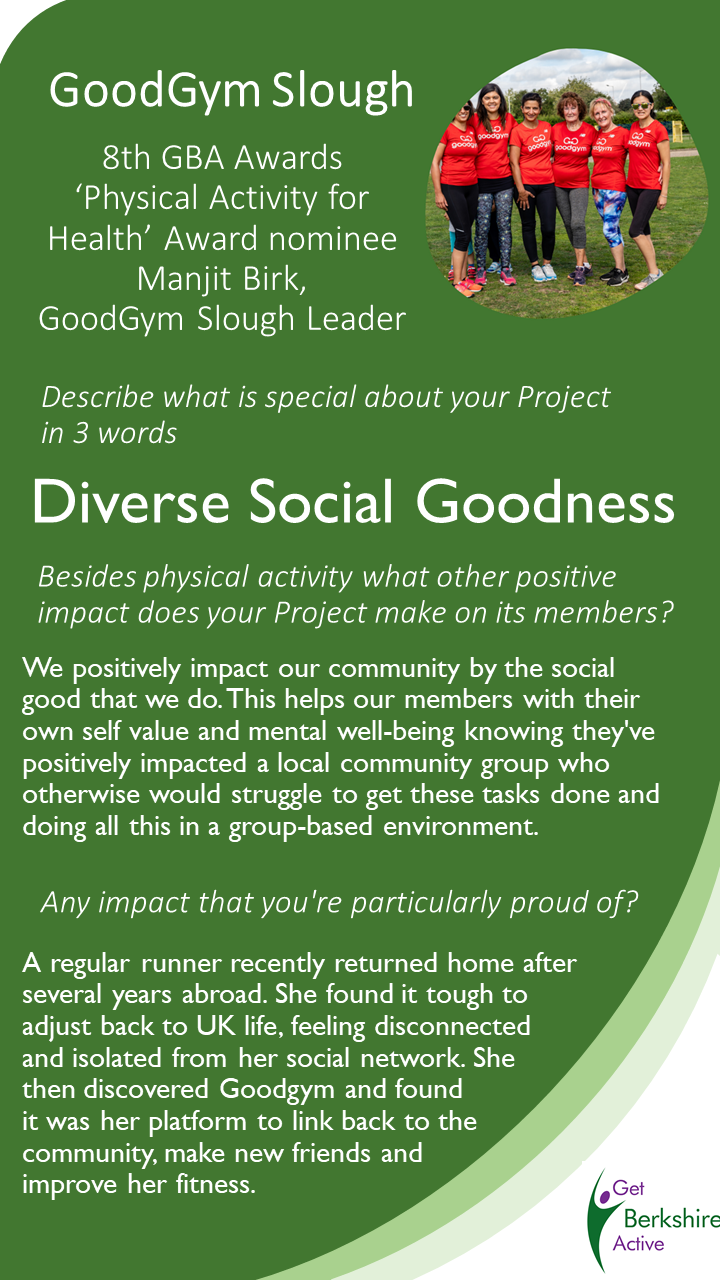 Image: GoodGym Slough