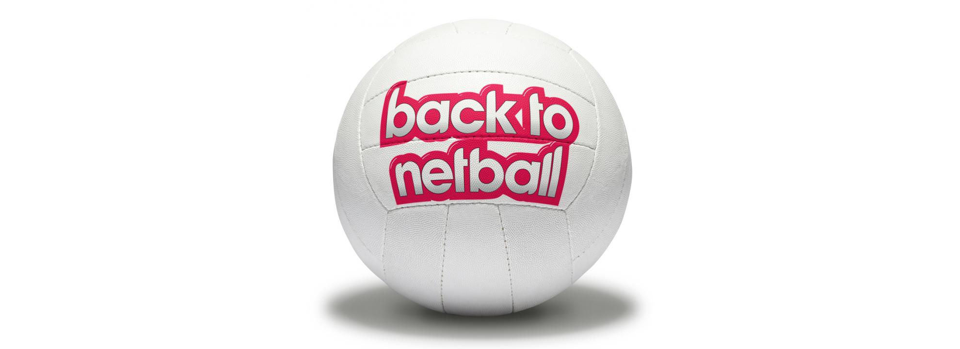 Back to Netball - Slough Banner